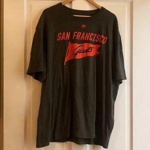 🏷SALE🟣Majestic San Francisco Giants Fan T Shirt.